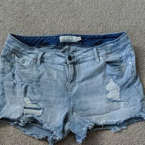 Worn Once Torrid Shorts